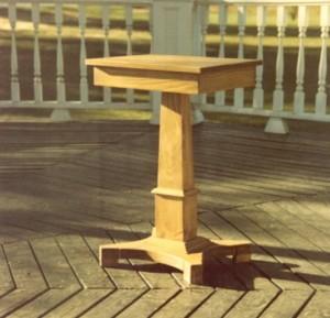 square podium